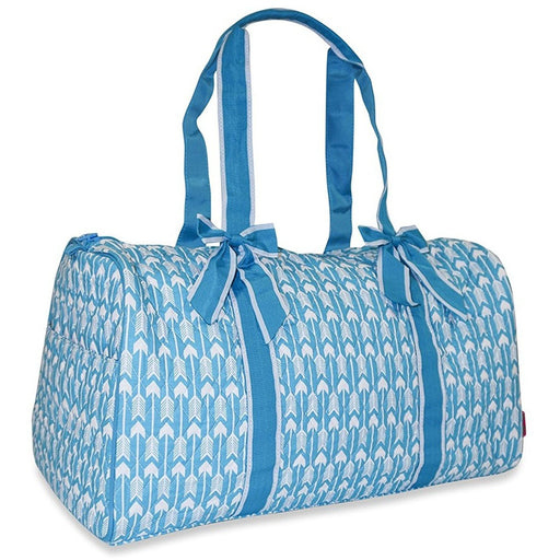 Ever Moda Arrow Quilted Duffel Bag - jenzys.com