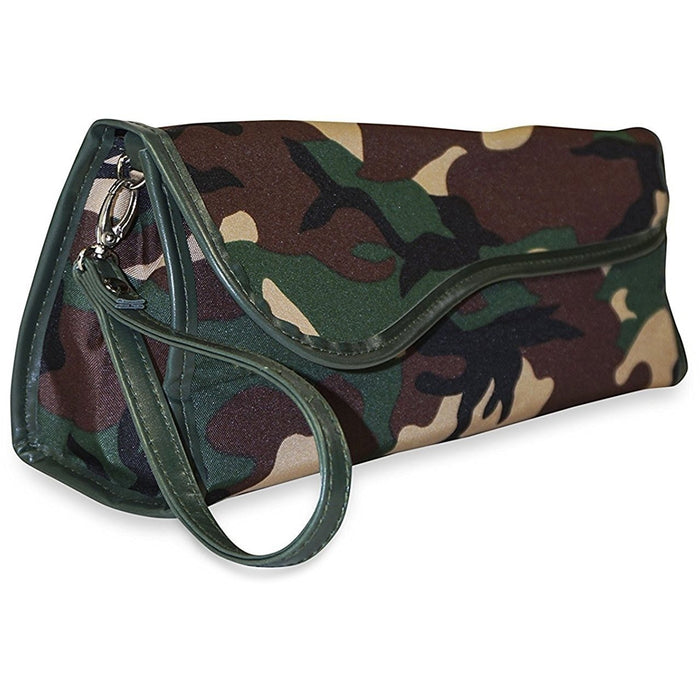 Ever Moda Camo Flat Iron Travel Case - jenzys.com