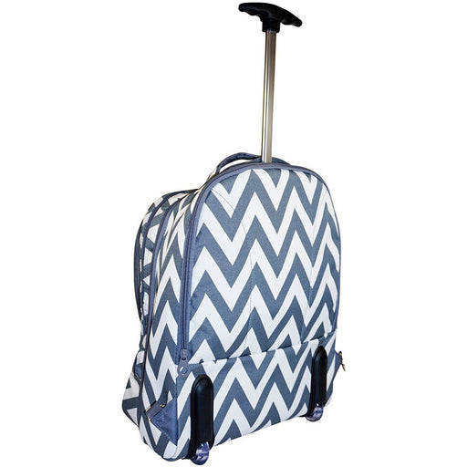 Ever Moda Chevron Laptop Backpack - jenzys.com