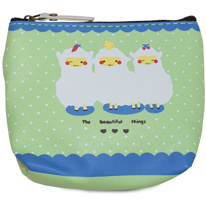 Lamb Print Coin Purse - jenzys.com