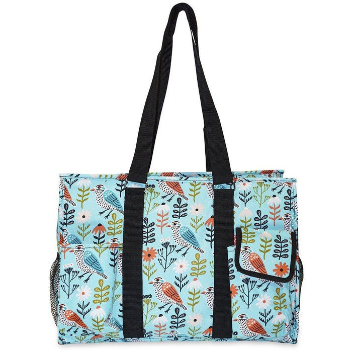 Ever Moda Bird Print Travel Tote Bag - jenzys.com
