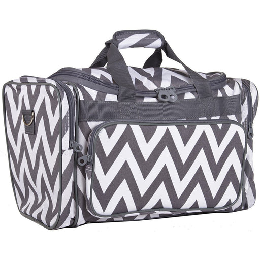 Ever Moda Chevron Duffel Bag - jenzys.com