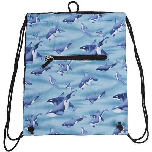Whale Drawstring Backpack - jenzys.com