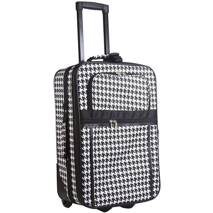 Houndstooth Carry On - jenzys.com