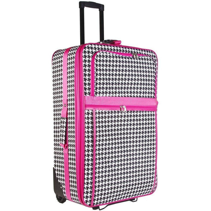 Houndstooth Luggage Set - jenzys.com