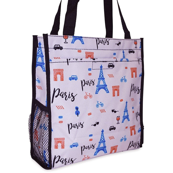 Ever Moda Paris Tote Bag - jenzys.com