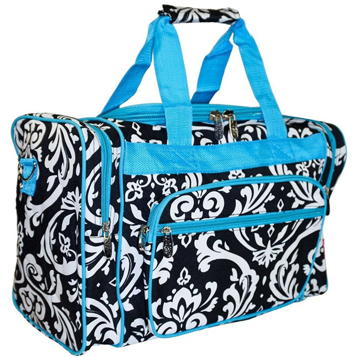 NGIL Damask Duffel Bag