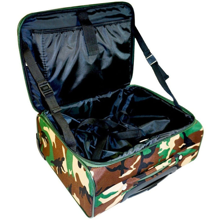 Ever Moda Camo Rolling Laptop Case - jenzys.com