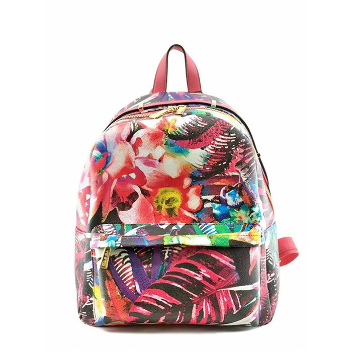 Tropical Floral Fashion Backpack
