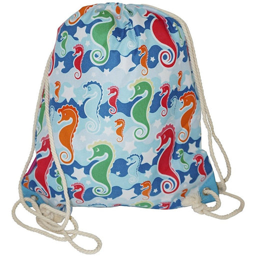 Ever Moda Seahorse Drawstring Backpack - jenzys.com