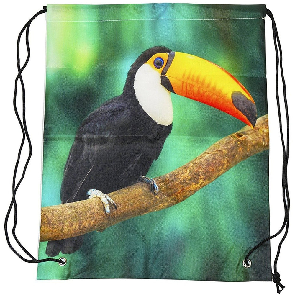 Toucan Drawstring Backpack - jenzys.com