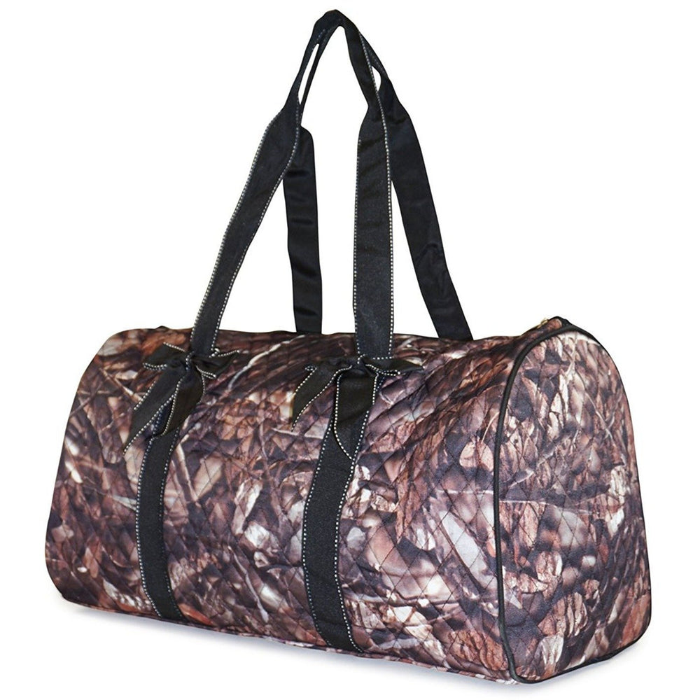 NGIL Camo Quilted Duffel Bag - jenzys.com