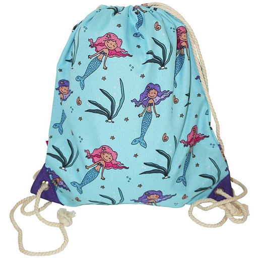Ever Moda Mermaid Drawstring Backpack - jenzys.com