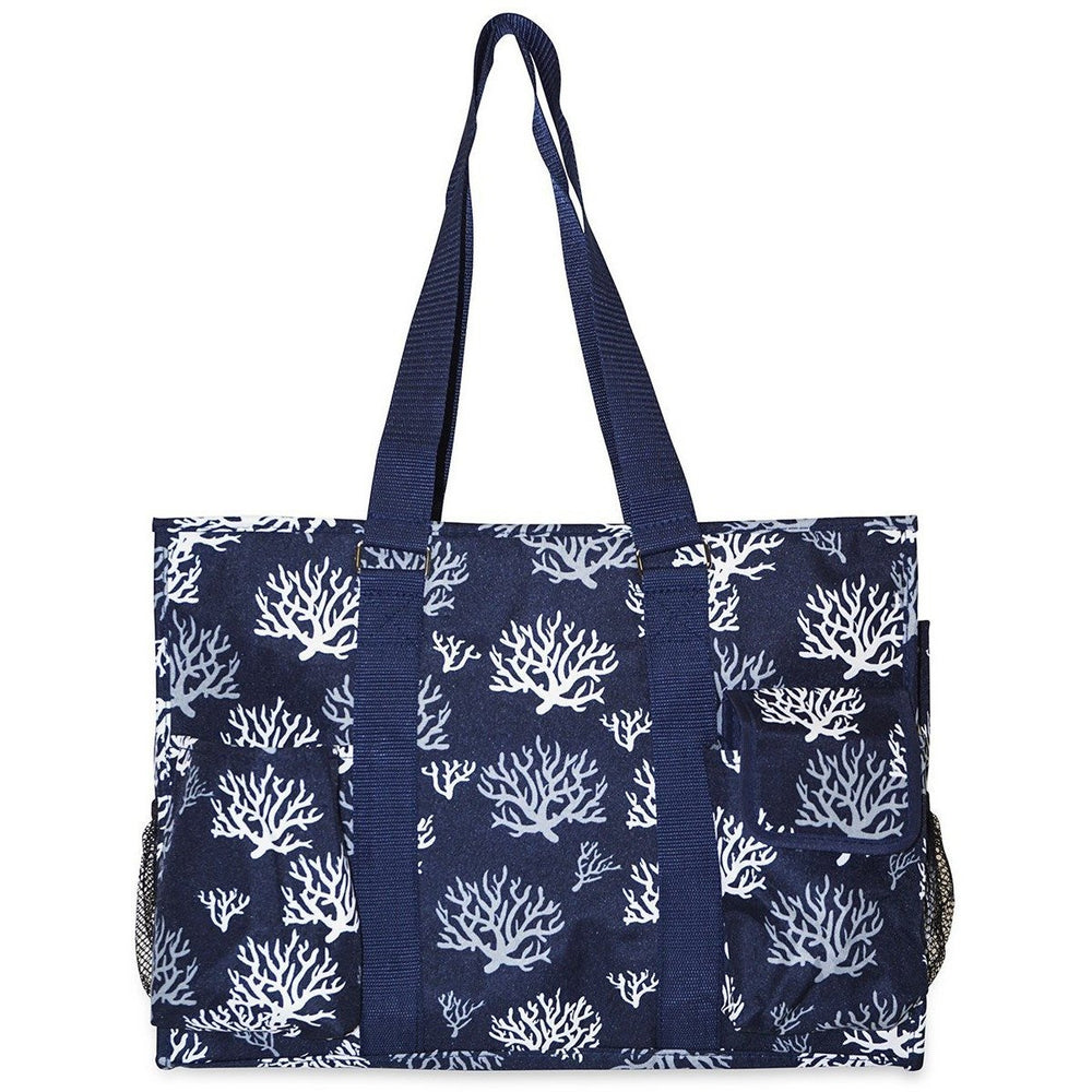 Ever Moda Sea Coral Utility Tote Bag - jenzys.com