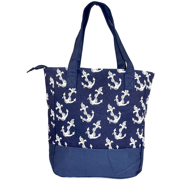 Canvas Anchor Tote Bag - jenzys.com