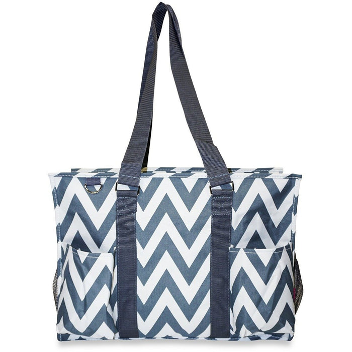 Ever Moda Chevron Travel Tote Bag