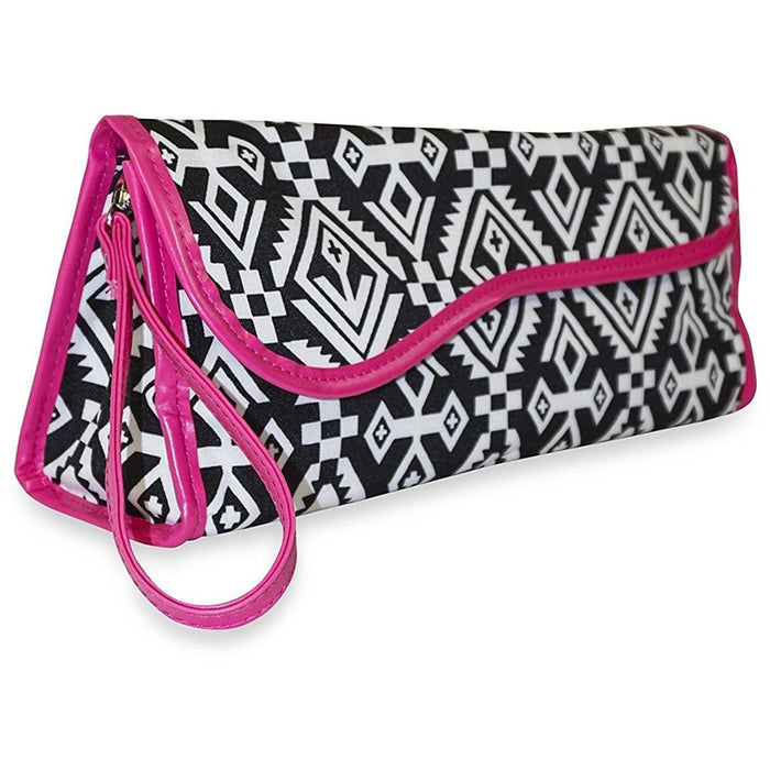 Ever Moda Tribal Flat Iron Travel Case