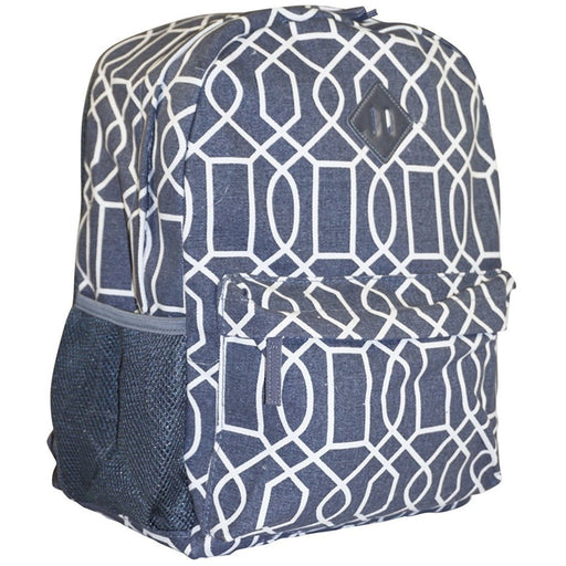 Ever Moda Geometric Backpack