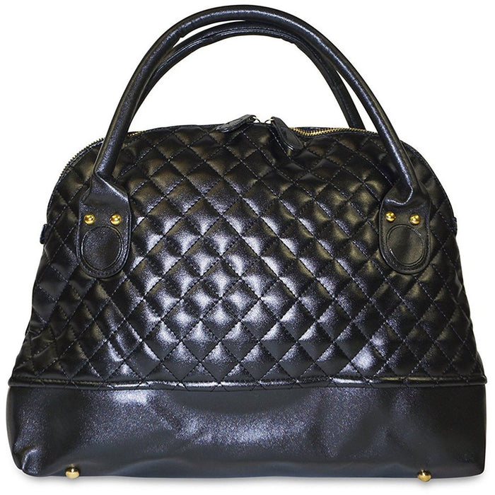 Top Handle Quilted Handbag - jenzys.com