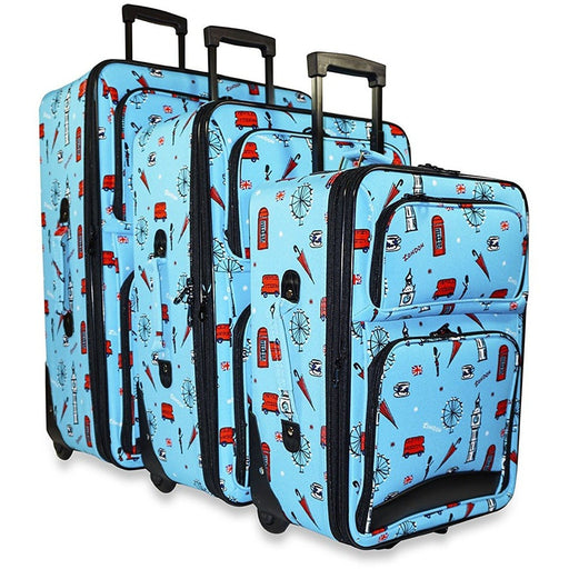 UK London Luggage Set - jenzys.com