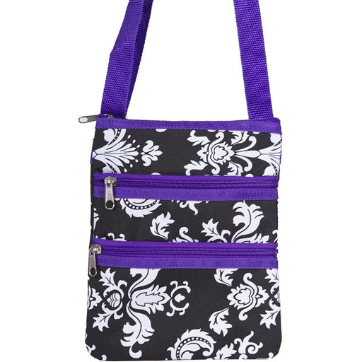Damask Cross-body Bag - jenzys.com