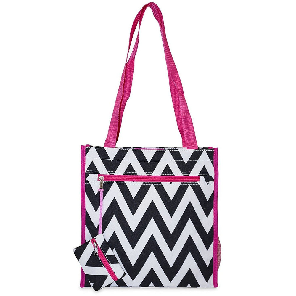Ever Moda Chevron Tote Bag - jenzys.com