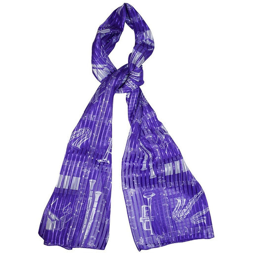Music Print Fashion Scarf - jenzys.com
