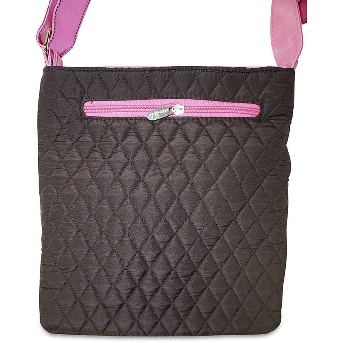 Rosenblue Quilted Cross-Body Bag - jenzys.com