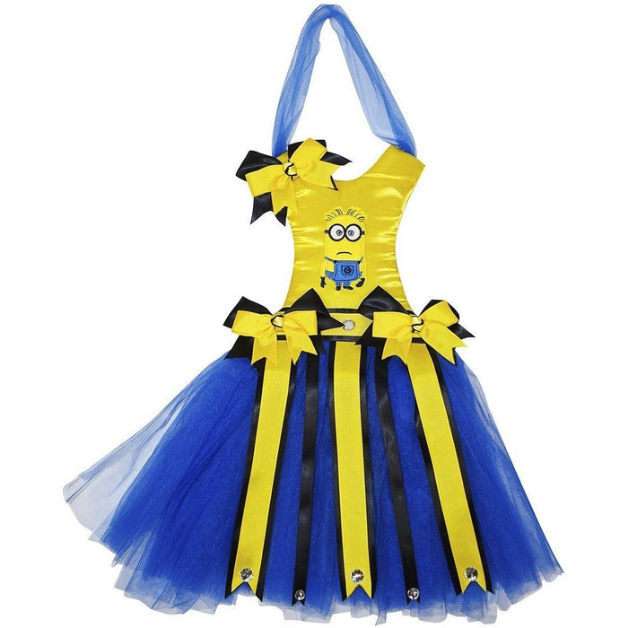 Minions Tutu Dress Hair Bow Holder - jenzys.com