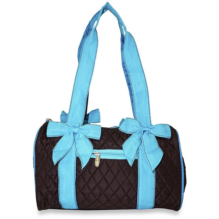 Rosenblue Quilted Duffel Bag - jenzys.com