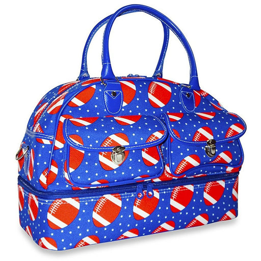 Ever Moda Football Drop Bottom Duffel Bag - jenzys.com