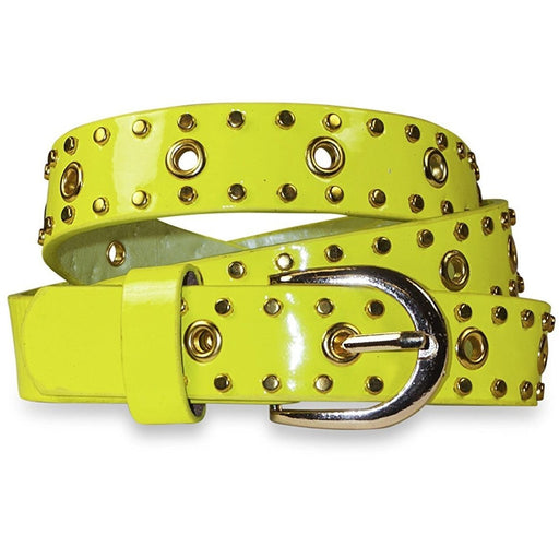 Brass Studded Belt - jenzys.com