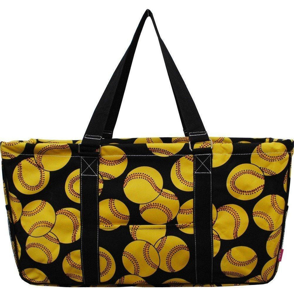 Softball Storage Tote Bag - jenzys.com