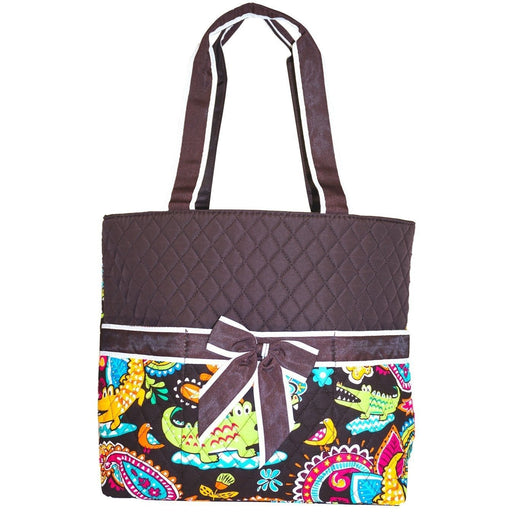 NGIL Alligator Quilted Diaper Bag - jenzys.com