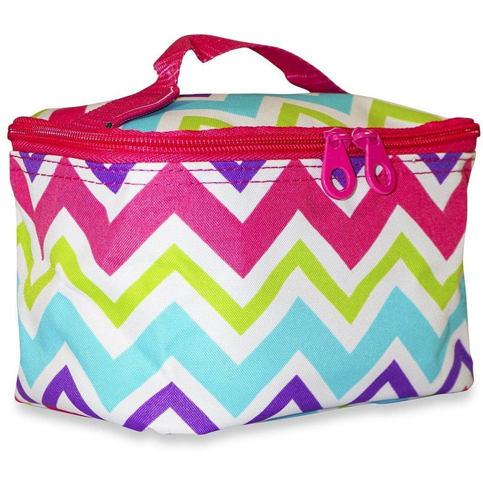 Ever Moda Chevron Makeup Bag - jenzys.com