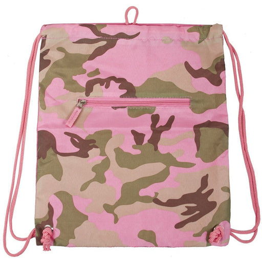 Camo Drawstring Backpack - jenzys.com