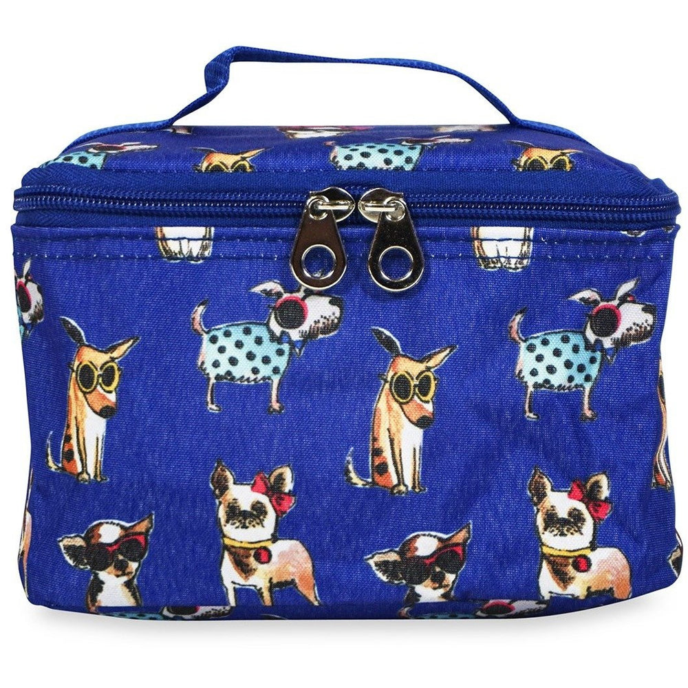 Jenzys Cute Dogs Cosmetic Makeup Case - jenzys.com