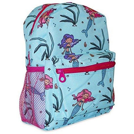 Teal Mermaid Mini Backpack (12-inch)