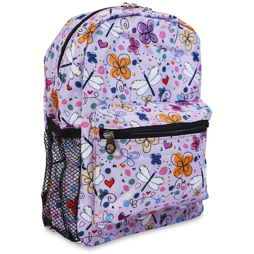 Jenzys Butterfly and Dragonfly Mini Backpack - jenzys.com