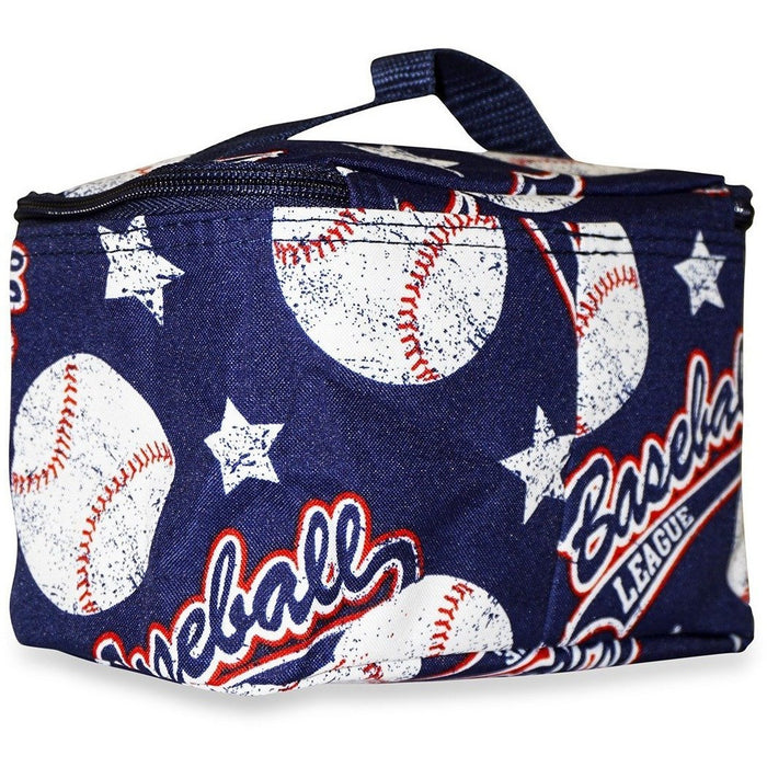 Ever Moda Baseball Makeup Bag - jenzys.com