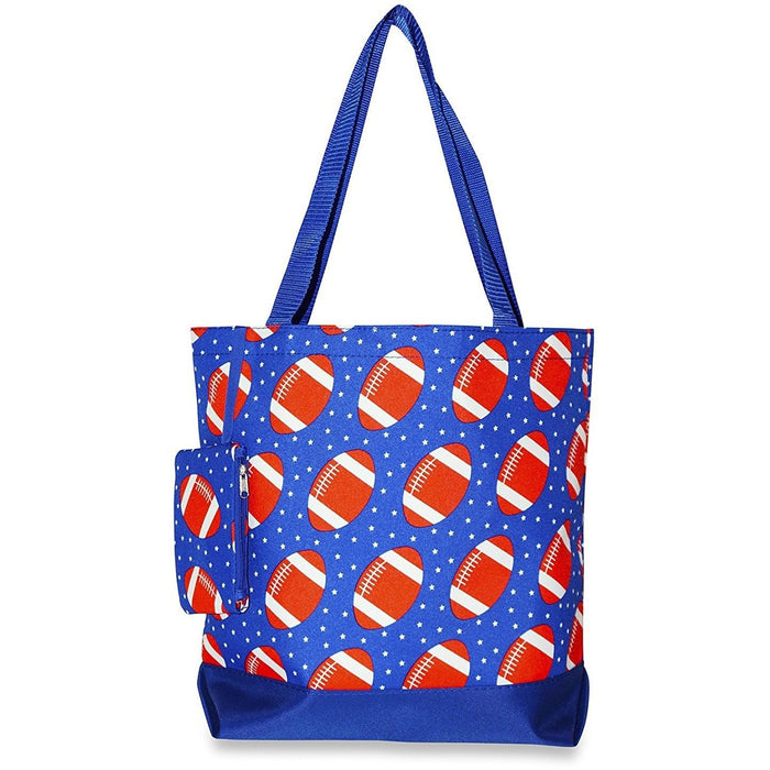 Ever Moda Football Tote Bag - jenzys.com