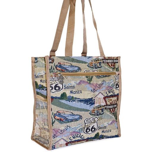 Route 66 Tote Bag - jenzys.com