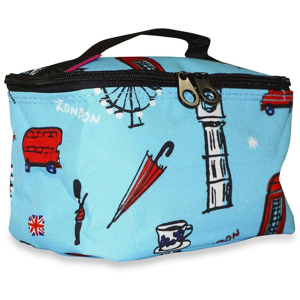 Ever Moda UK London Travel Makeup Bag - jenzys.com
