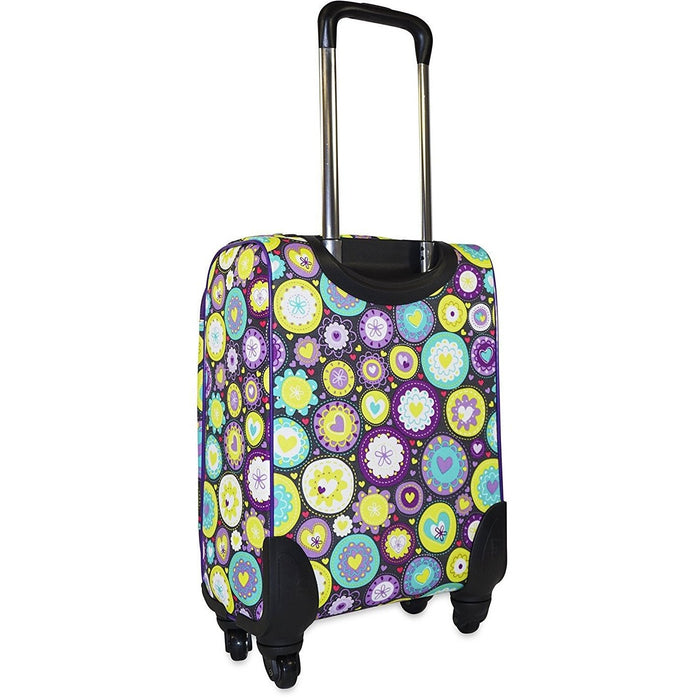 Ever Moda Heart 360 Spinner Carry On - jenzys.com