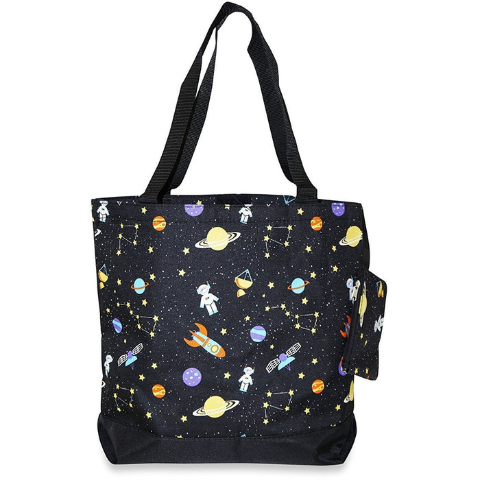 Ever Moda Galaxy Tote Bag