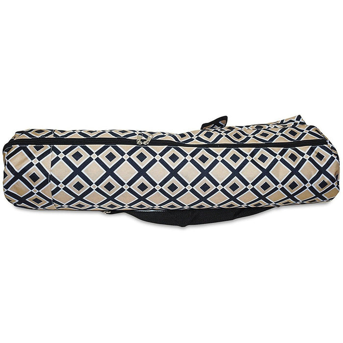 Geometric Yoga Mat Bag - jenzys.com