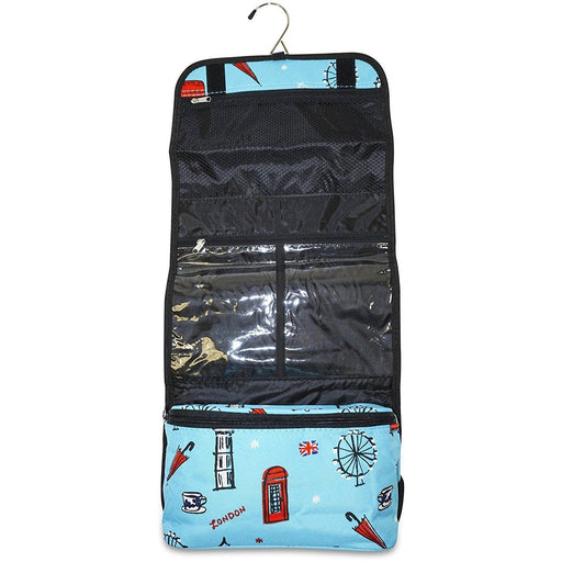 UK London Hanging Toiletry Bag - jenzys.com