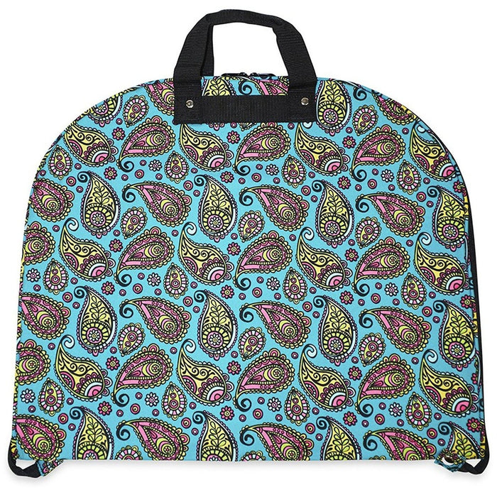Ever Moda Paisley Hanging Garment Bag