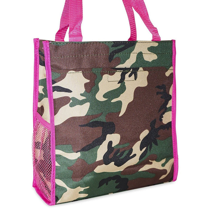 Ever Moda Camo Tote Bag - jenzys.com