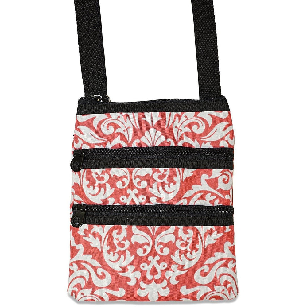 Ever Moda Damask Cross-body Bag - jenzys.com